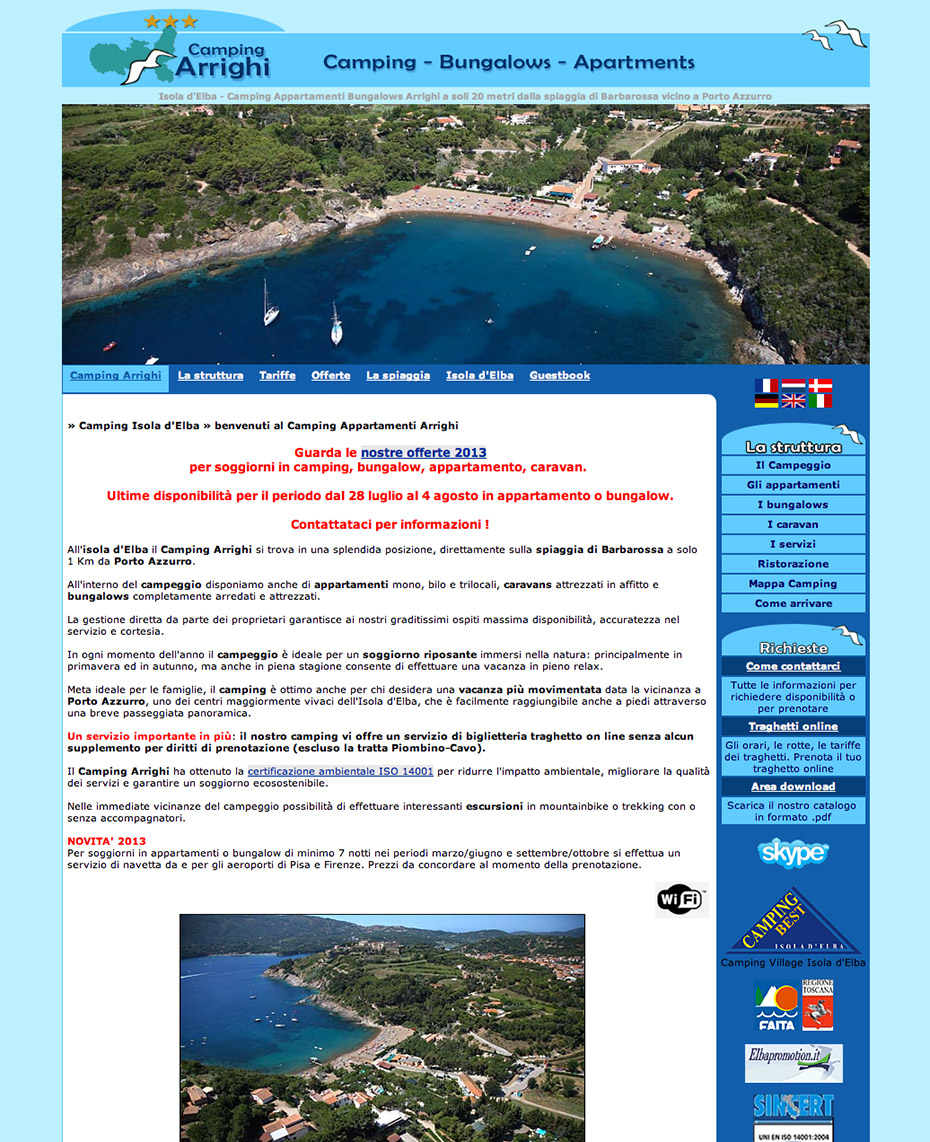 Camping Arrighi - Isola d'Elba